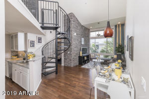 Open concept Greatroom with soaring ceilings!