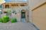 Enter through lovely courtyard