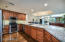 Granite counters and upgraded appliances