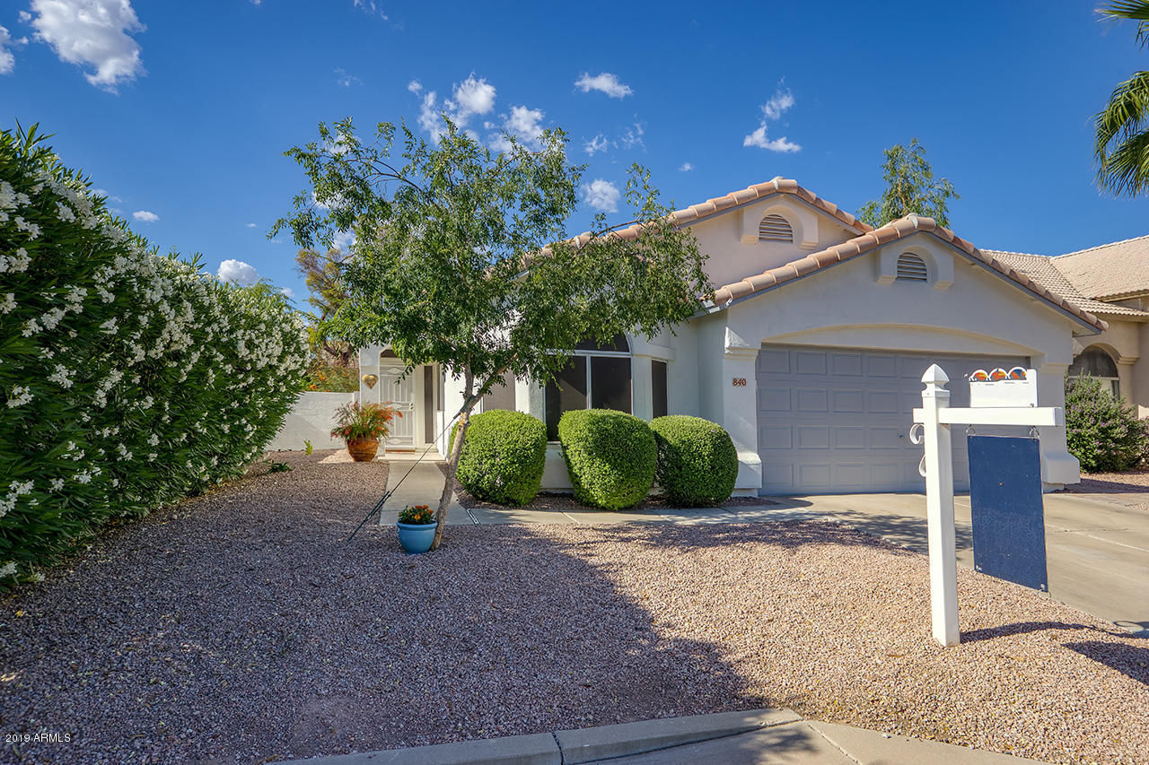 Photo of 840 E BAYLOR Lane, Chandler, AZ 85225