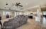 Huge great room/kitchen area