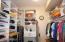 Second Closet Master bedroom