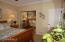 Bedroom #5 crown moulding, fan and mirrored closet doors