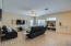 Open concept family room and kitchen / eat-in dining area