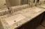 New granite tops & new sinks & waterfall faucets