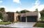 Elevation rendering right side garage