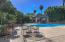 View of backyard patio