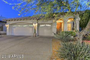 Lovely curb appeal and 3 car garage.