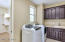 Laundry Room w/ Washer/Dryer.