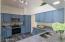 Kitchen From Breakfast Bar New Granite Counter Tops/Sink/Fixtures