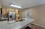 Quartz counters, granite sink, Stainless Steel Appliances.
