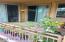 Ground level outdoor patio