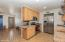 Open Concept Kitchen and Living