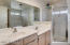 Dual sinks, seperate tub and shower