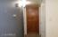 Extra storage in hallway near bedroom/bathroom