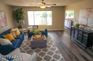 Living Area off Main Entrance!