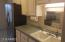 well designed kitchen with almost new appliances