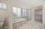Master Bath - Brand New Frameless Shower, New Shower Pan Tile, Re-Enameled Bathtub, Granite Front
