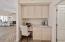 Built In Desk - Kitchen