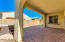 Beautiful paver stone yard and covered patio