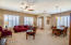 Living room and formal dining
