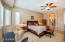 Master Bedroom - split floor plan, separated from other bedrooms. Light and bright!