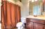 Full bathroom in the Casita