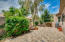 Private Backyard with Custom Patio