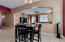 Eat In Area leads to Family Room