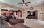 Family Room open floor plan concept