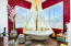 SPECTACULAR MASTER BATH WITH SUPERB FRENCH BATH AND WALK IN SHOWER