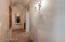 Hallway to secondary bedrooms