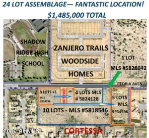 18301 Aprx W Peoria Avenue, 1-5, 11,12,13,15, Waddell, AZ 85355