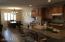 Long Breakfast bar/ Dining Area