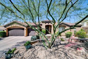 This beautiful, updated home is tucked away on a private cul-de-sac in the gated and well-manicured community of 2200 E Bethany. Right as you enter the home, you are greeted by soaring, recessed ceilings and fantastic views of Piestewa Peak beaming through the large living room windows. The open concept chef's kitchen features gas range, granite counter tops, double ovens, and breakfast bar. Filled with an abundance of natural light and quality finishes, this home offers an ideal layout of four bedrooms and an office/den with a full closet. With a sparkling pool, low maintenance turf, and a three car garage, this home has it all - including a prime, unbeatable location next to the canal trail and Biltmore Fashion Park!
