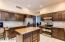Kitchen with designer backsplash & Granite countertops