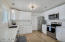 Complete new kitchen with quartz countertops and stainless appliances