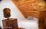 Cabin #2 Loft Beddroom