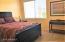 "Master Bedroom With ""Stone Like"" Tile Floors"