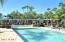 Lush Pool and Spa Area