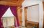 Cabin #4 Bedroom #1 View