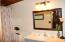 Main Cabin upstairs bathroom