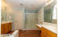 Split vanities, Newly refinished shower, garden tub, tile and walk in closet!