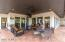 over two thousand square feet of custom covered patio.
