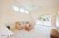 Large living room off of kitchen