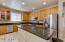 Larger kitchen island