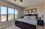 Master bedroom with views of the McDowell Mountains!