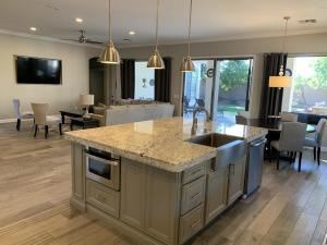 completely redesigned kitchen