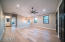 Upstairs Loft/Game Room With Washed Oak Wood Floors