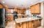 Beautiful upgraded cabinets and magnificent granite.